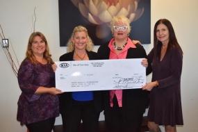 Kia of Cerritos donates $10,000 to the Cancer Research Collaboration